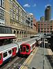 21029 arrives at Barbican. Sat 09.08.14