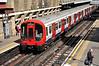 21351 departs Barbican bound for Barking. Sat 09.08.14