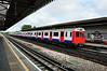 7127 arrives at Stamford Brook. Sat 09.08.14