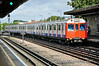 7101 arrives at Stamford Brook with train 005 bound for Upminister. Sat 09.08.14