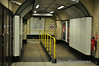 Unusually for a Tube Station the lift landing area at Borough gives direct access to the Northbound Platform, access to the Southbound Platfrom is via a flight of stairs to the left and right of the hall. Sun 10.08.14
