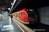 423.153 departs Rosenheimer Platz on a S8 service. Fri 07.11.14