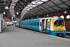 175011 waits to depart Holyhead with 1232 Holyhead to Shrewsbury. Fri 02.05.14