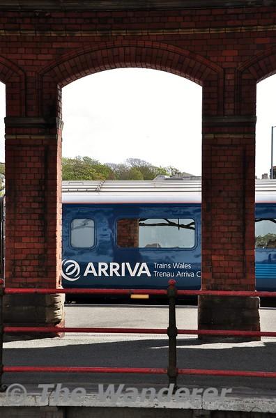 Arriva Trains Wales MK 3 at Holyhead. Tues 19.05.15