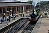 592 runs around its train at Sheffield Park Station. Mon 16.05.16