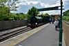592 just after arrival at East Grinstead. Mon 16.05.16