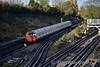 "A westbound Piccadilly train leaves Acton Town for Uxbridge. Sat 19.11.16<br /> <br /> The main reason for the visit to Acton was to visit the London Transport Museum Depot. This visit can be viewed at <a href=""http://smu.gs/2fvayDJ"">http://smu.gs/2fvayDJ</a>"