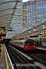 73 stock car 182 arrives into Hammersmith Station. Sat 19.11.16