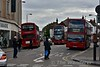 Bus Stand at  Longmead Rd, Tooting Broadway. Sat 15.05.16