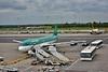 Aer Lingus A320 EI-CVC at Birmingham Airport. It would be flying EI232 to Dublin. Thurs 19.05.16