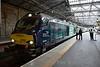68002 waits to depart Edinburgh with the 1708 Edinburgh to Glenrothes with Thornton. Tues 02.08.16