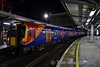 458520 at London Waterloo. 1753 Windsor & Eton Riverside to London Waterloo. Sat 14.01.17