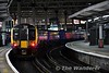 450024 at the rear of the 1708 Portsmouth Harbour to London Waterloo. Sat 14.01.17