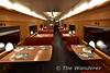 Interior of a Class 411 ICE set. Restaurant Car / Buffet Counter. Sun 13.08.17