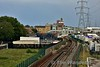 Looking East from Royal Victoria Dock DLR station you can see the eastern portal of the Crossrail Branch to Abbey Wood. Sat 16.09.17