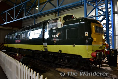 "BR Co-Co Diesel-Electric ""Deltic"" Class 55 No 55002 on display in the Great Hall at the National Railway Museum. Sun 12.11.17"