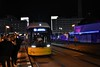 9021 arrives at Alexanderplatz on a M6 tram line to take me to my hotel. Thurs 04.10.18