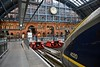 4019 + 4020 wait to depart from St. Pancras with the 1101 to Paris Gare du Nord. Sat 17.03.18