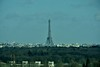 A view of the Eiffel Tower on the way back to Paris. Tues 20.03.18
