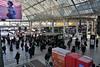 Gare de Lyon Hall 2 concourse. Tues 20.03.18