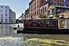 A trip on the Jenny Wren narrowboat from Camden to Little Venice and back. Fri 29.06.18