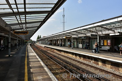Chichester Station. Wed 23.05.18