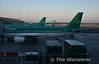 The view from the Aer Lingus lounge at Dublin Airport shortly after 0530. Thurs 28.06.18