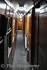Corridor in one of the sleeper carriages. Fri 07.09.18