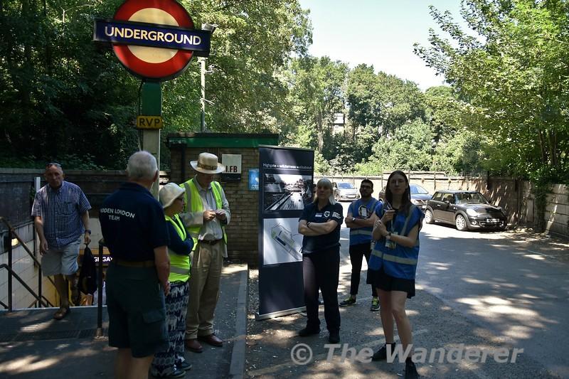 Highgate - Wilderness Walkabout Hidden London tour. Fri 29.06.18