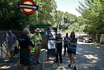 UK Trip:  Highgate - Wilderness Walkabout Hidden London tour.  29th June 2018