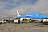 KLM B737 PH-BGE on stand at Dublin bound for Amsterdam. Thurs 15.03.18