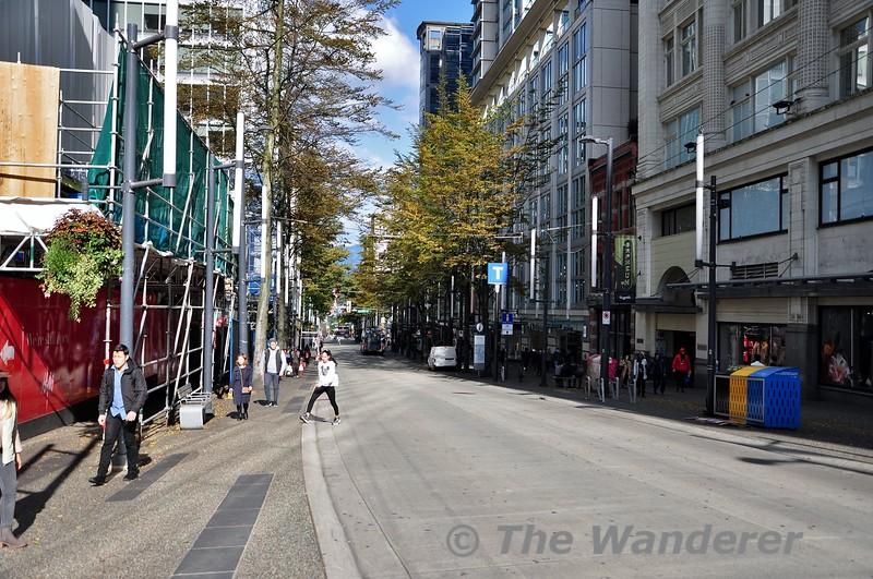 Granville Street in Seattle. Sun 29.09.19