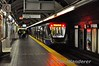 The Skytrain in Vancouver. Granville Street. Sun 29.09.19