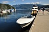 Speedboat rental. Our 17ft boat in Deep Cove. Mon 30.09.19