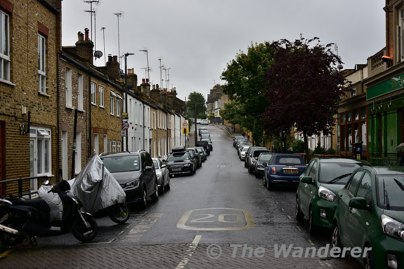 Alma Road in Wandsworth, London. This is where my mother spent a substantial part of her childhood growing up. Wed 14.08.19