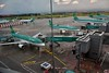 The ramp at Dublin Airport Terminal 2. Wed 14.08.19