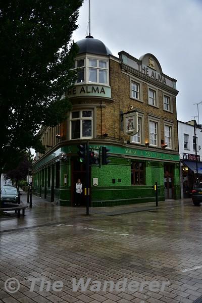 The Alma Pub in Wandsworth. Wed 14.08.19