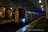 380009 arrives at Paisley Gilmour Street. 1606 Glasgow Central to Gourock. Tues 26.11.19