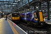 318259 and 380015 stabled at Glasgow Central. Tues 26.11.19