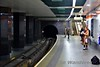 The Glasgow Subway at Partick. Tues 26.11.19