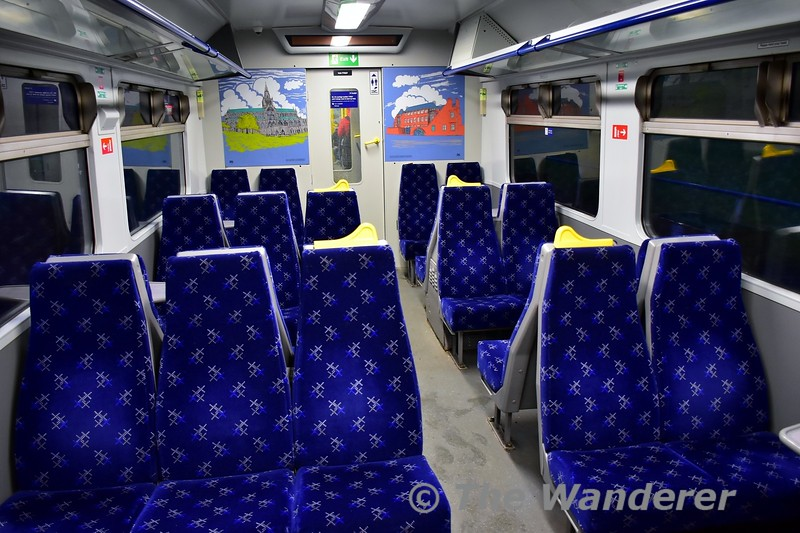 The smart interior of 320307. Tues 26.11.19