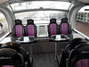 The interior of the Glasgow Airport Express route 500 buses used on the airport shuttle between the City Centre and the Airport. They are operated by First Group. Tues 26.11.19