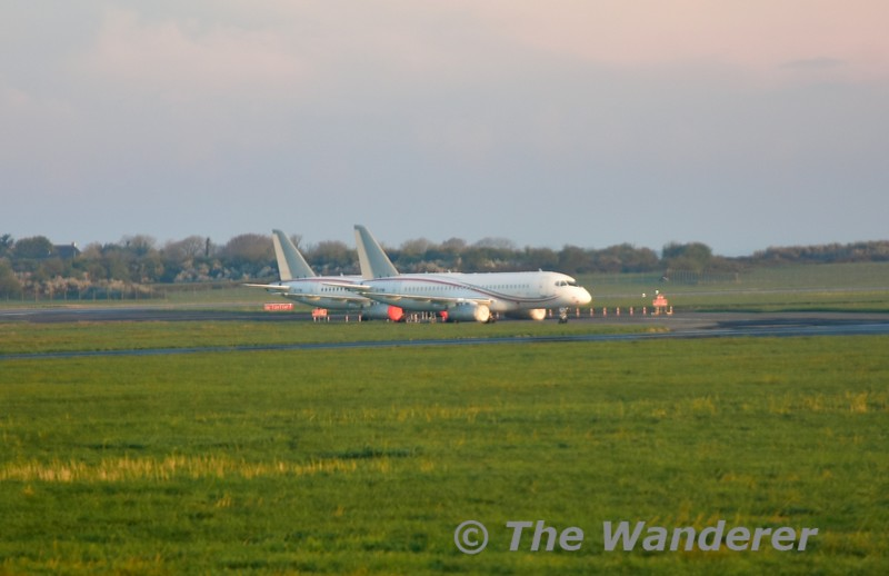 Former Cityjet Superjet aircraft now stored off lease at Shannon. Fri 05.04.19
