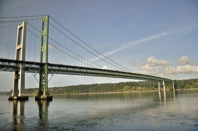 Tacoma Narrows Bridge. Wed 26.09.19