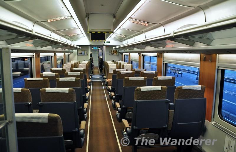 Coach Class interior. Wed 25.09.19