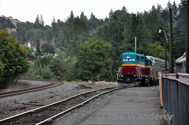 Hood River Station. Home of the Mount Hood Railway. Sun 22.09.19