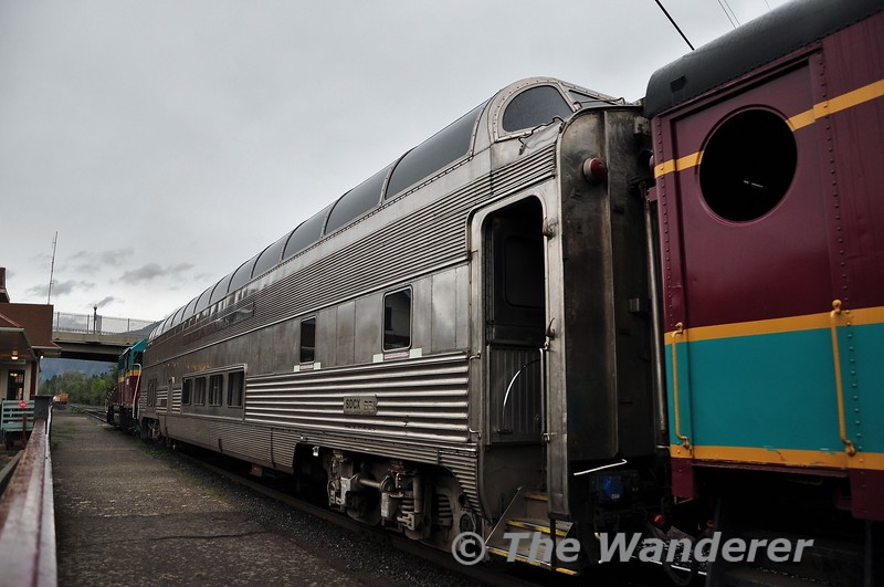"Santa Fe Full Dome ""Sky View"" #551 on the Mount Hood Railway. Sun 22.09.19"