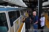 The Seattle Monarail. Boarding the Blue Train. Wed 25.09.19