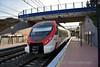 464711 + 464211 at La Colina with the 1750 Malaga Central to Fuengirola. Mon 02.03.20