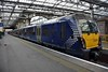 334019 at Edinburgh after arriving with the 1310 Dumbarton Central to Edinburgh. Sun 09.02.20